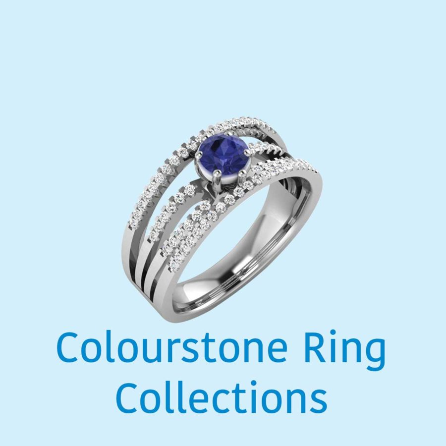 COLOUR STONE RING COLLECTIONS